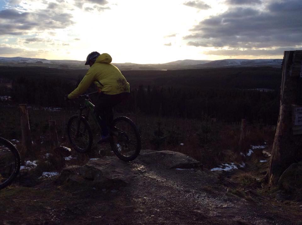 Ade dropping at Gisburn