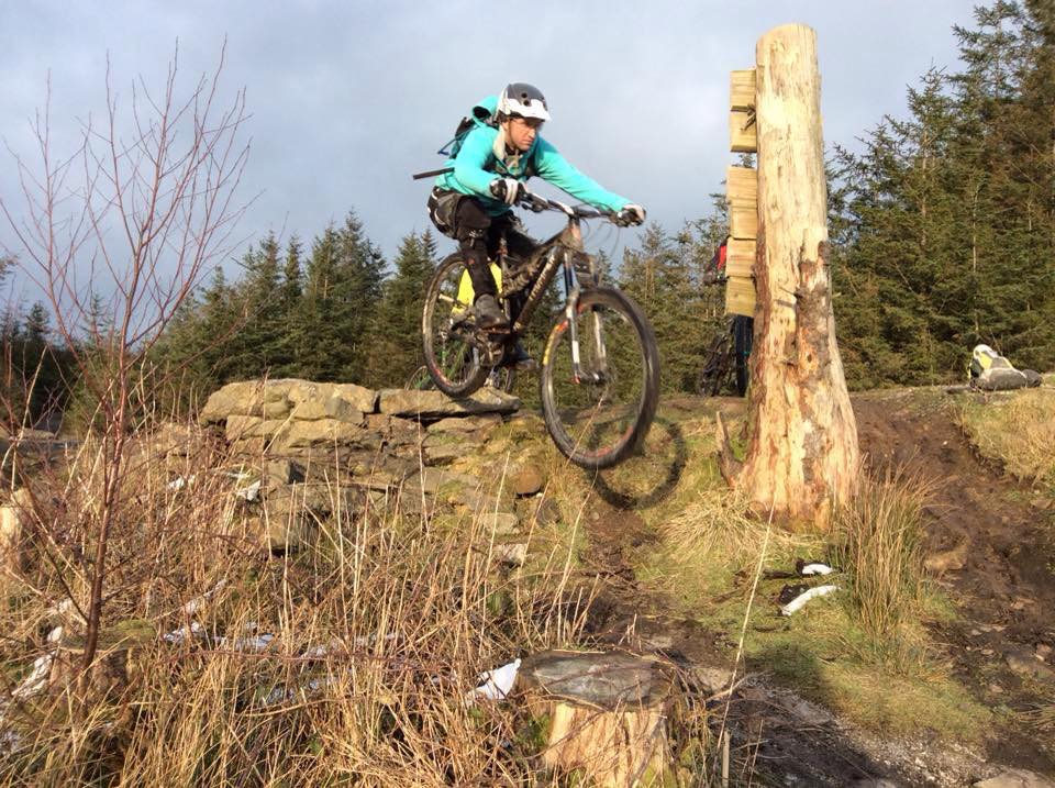 Dropping at Gisburn Forest