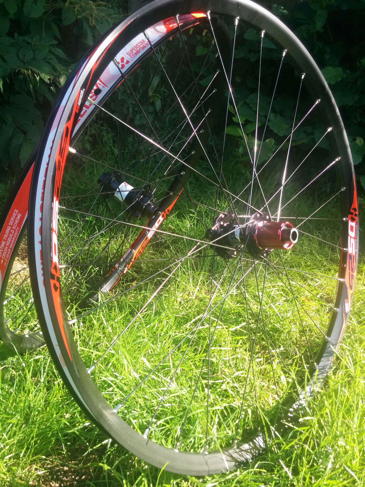 Superstar Tech 4 wheelset