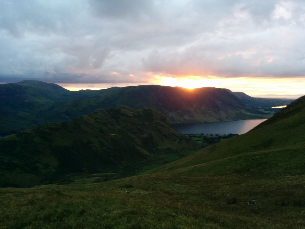 Sunset over Rannerdale